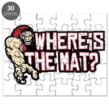 Wrestling Wheres The Mat Puzzle