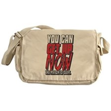 Wrestling Get Up Now Messenger Bag