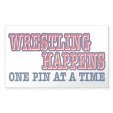 Wrestling Happens Decal