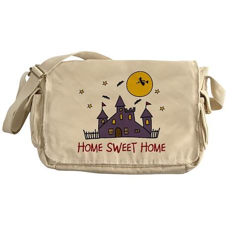 Home Sweet Home Messenger Bag
