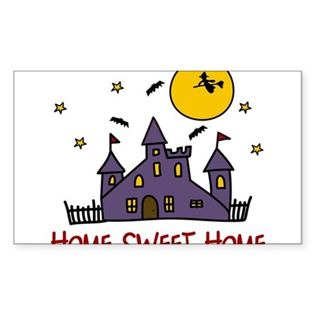 Home Sweet Home Sticker (Rectangle)