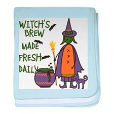 Witchs Brew baby blanket
