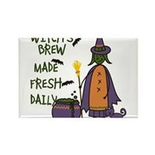 Witchs Brew Rectangle Magnet
