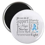 Prostate Cancer Words Magnet