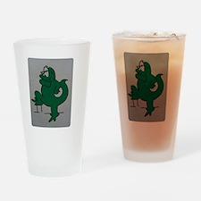 El lagartijo verde Drinking Glass