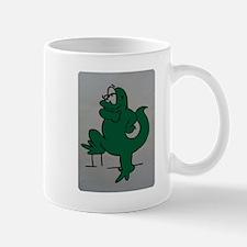 El lagartijo verde Mug