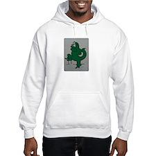El lagartijo verde Hoodie
