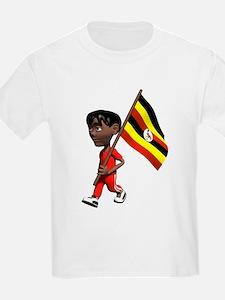 3D Uganda Kids T-Shirt