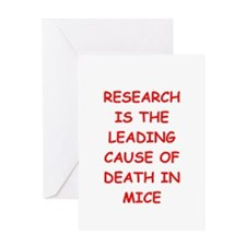 research Greeting Card
