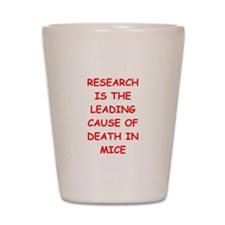 research Shot Glass