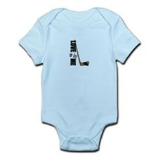 HOCKEY - LOVE TO BE ME Infant Bodysuit