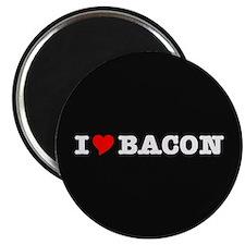 """Bacon I Love Heart 2.25"""" Magnet (100 pack)"""