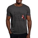Oral Cancer Words Dark T-Shirt
