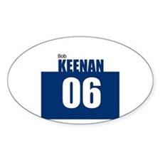 Keenan 06 Oval Decal