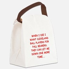 cleveland fan Canvas Lunch Bag