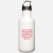 pittsburgh hater Water Bottle