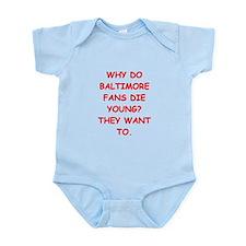 baltimore hater Infant Bodysuit