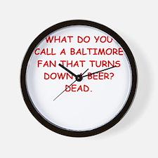BALTIMORE2.png Wall Clock
