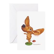 dashund Greeting Cards (Pk of 10)