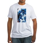 MoonShadow Super hero Fitted T-Shirt