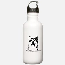 The Malamute Smile Water Bottle