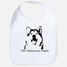 The Malamute Smile Bib