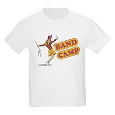 Band Camp Retro Parody Kids T-Shirt