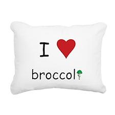 broccoli.png Rectangular Canvas Pillow