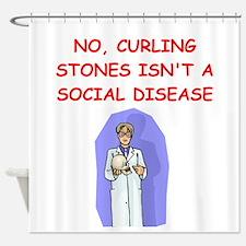 med school Shower Curtain
