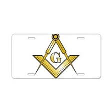 Golden Rule SC Aluminum License Plate