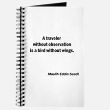 Bird Without Wings Journal
