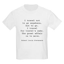 Travel to Go Kids T-Shirt