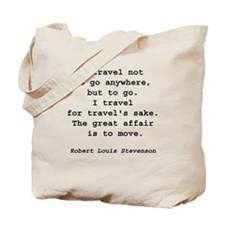 Travel to Go Tote Bag