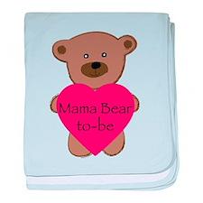 Mama Bear To-Be baby blanket