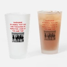 racehorse Drinking Glass