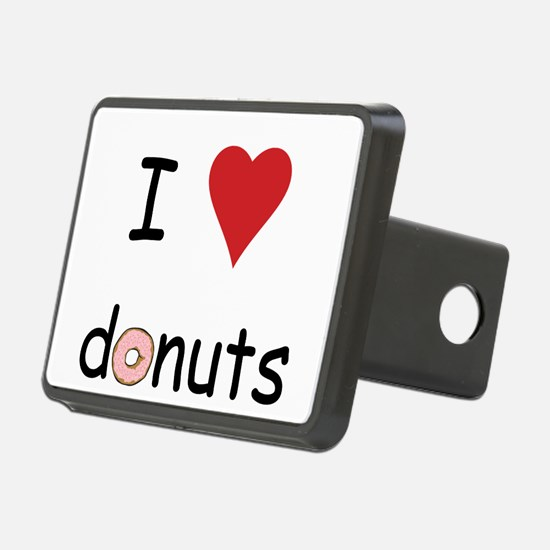 I Love Donuts Hitch Cover