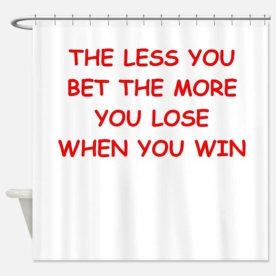 gamble Shower Curtain