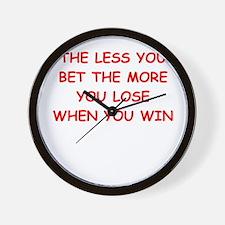 gamble Wall Clock