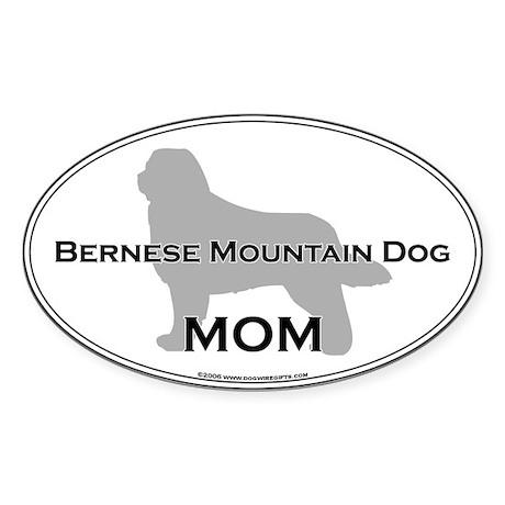 Bernese MOM Oval Sticker