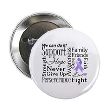 "General Cancer Words 2.25"" Button"