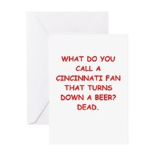 CINCY2.png Greeting Card