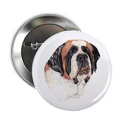 """Saint Bernard 2.25"""" Button (100 pack)"""