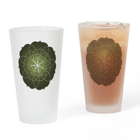 Lotus Flower Drinking Glass