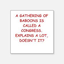 """congress Square Sticker 3"""" x 3"""""""