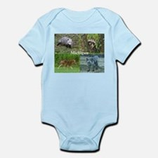 Michigan Animals Infant Bodysuit