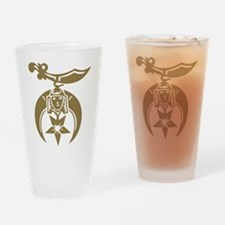 Shriners Drinking Glass