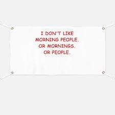 mornings Banner