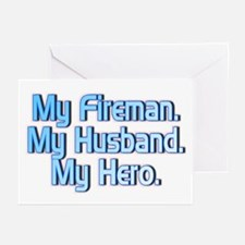 """Fireman Hero"" Greeting Cards (Pk of 10)"