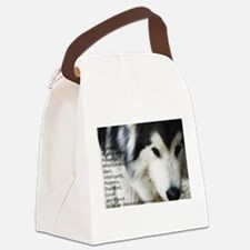 Proud to be a Malamute Canvas Lunch Bag