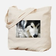 Proud to be a Malamute Tote Bag